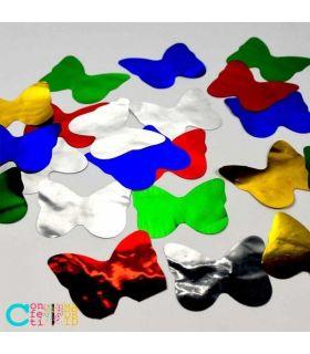 Confeti Brillo Metálico Mariposas