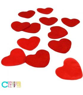 Confeti Biodegradable Papel Corazones