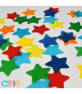 Confeti Biodegradable Papel Estrellas