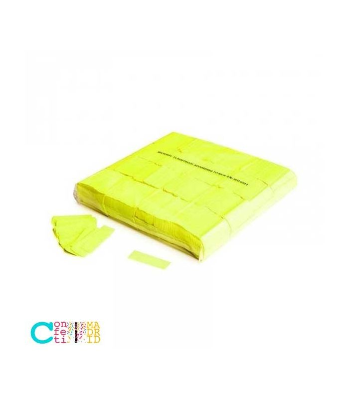 Confeti Fluorescente Rectangular