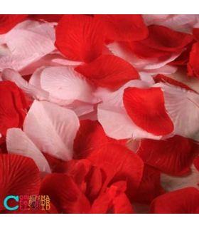 Confeti petalos tela